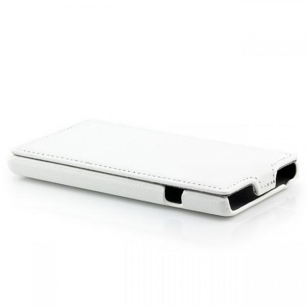 Flip Case für LG Optimus L9 P760 Weiß