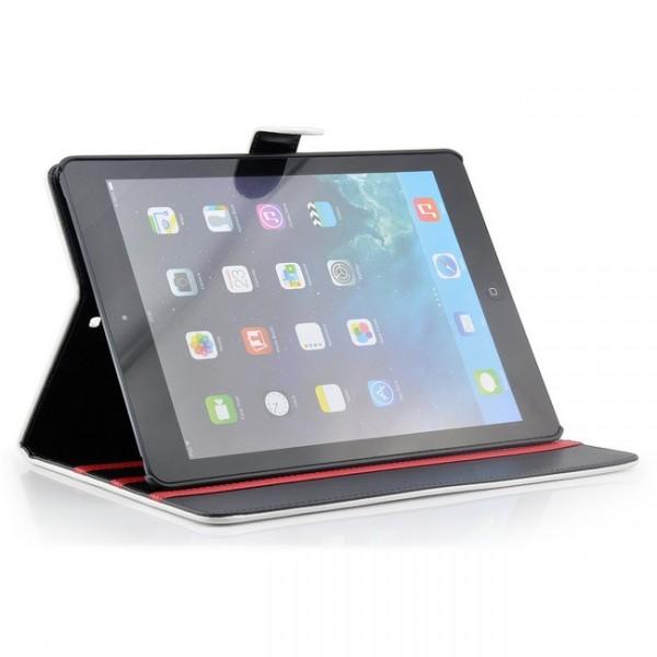 Deluxe Tablet Tasche für Apple iPad Air Weiß