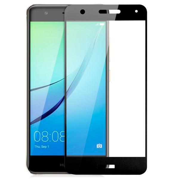 Full Cover Displayschutzglas für Huawei Nova - Schwarz