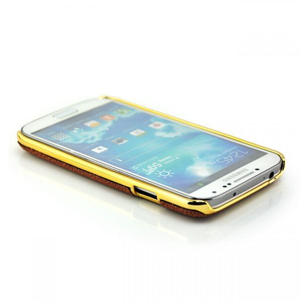 Ball Style Back Cover für Samsung Galaxy S4 Braun