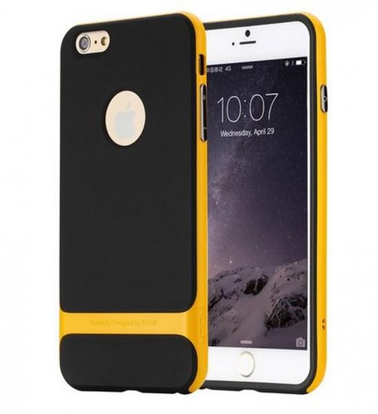 Rock Royce Back Cover für Apple iPhone 6 / 6S Plus - Schwarz-Gelb