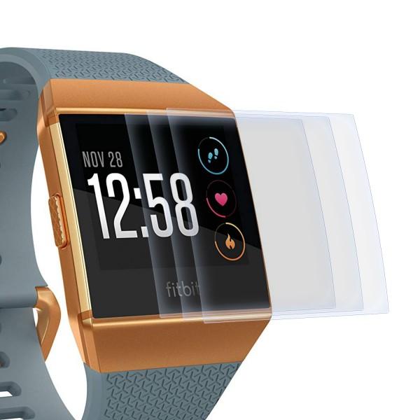 3x Displayschutzfolie für Fitbit Ionic