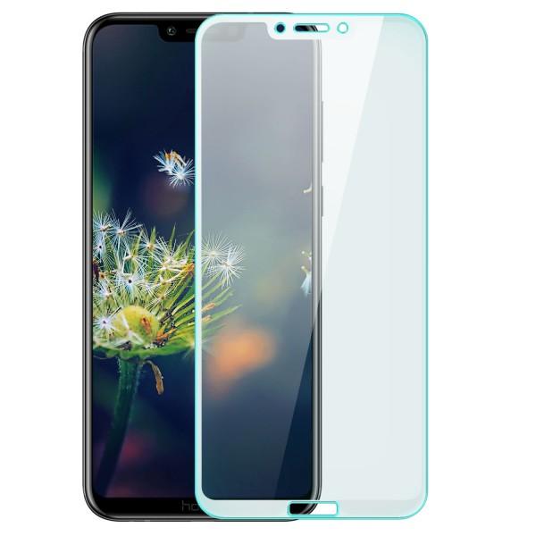 Full Cover Displayschutzglas für Huawei Honor Play - Weiß