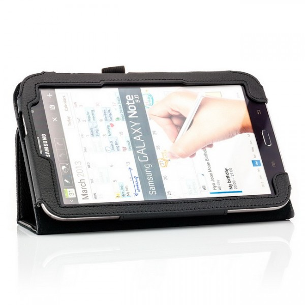 Slim Schutzhülle für Samsung Galaxy Note 8 Schwarz