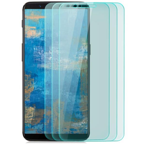 3x Displayschutzglas für OnePlus 5T