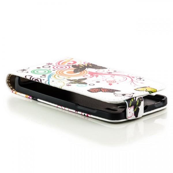 Schmetterlinge Flip Case für Huawei Ascend Y300