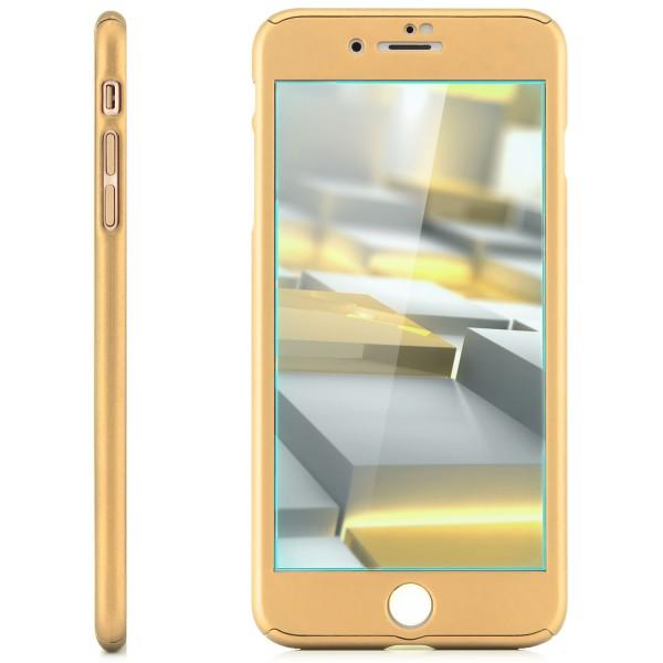 360° Protect Case für Apple iPhone 8 / 7 Plus - Silber