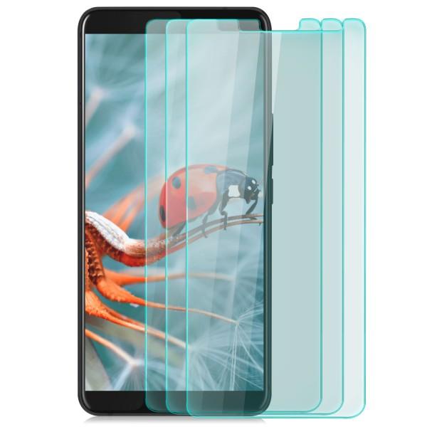 3x Displayschutzglas für HTC U11 Plus