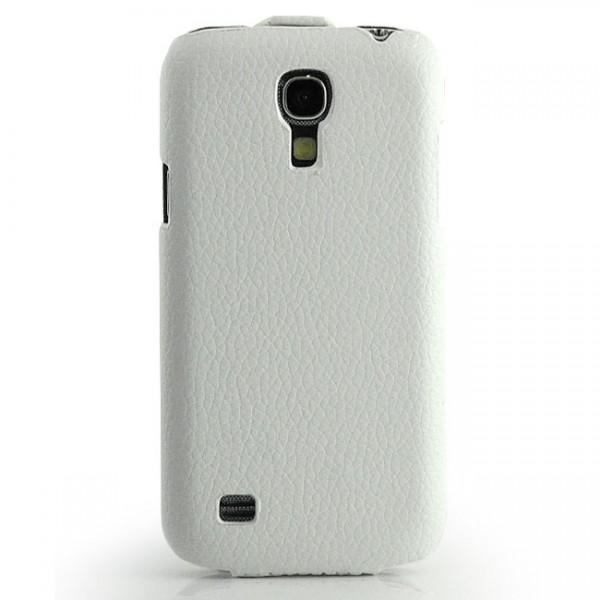 Slim Flip Case für Samsung Galaxy S4 Mini Weiß