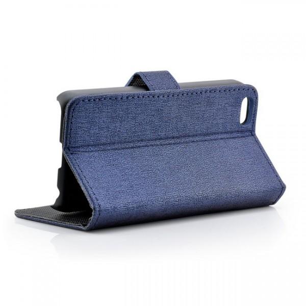 Jeans Style Tasche für Apple iPhone 5C Blau