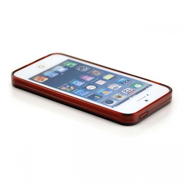 Silikon Case für Apple iPhone 5 5S SE Braun