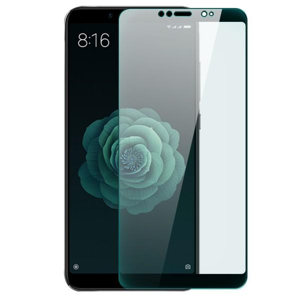 Full Cover Displayschutzglas für Xiaomi Mi 6X - Schwarz