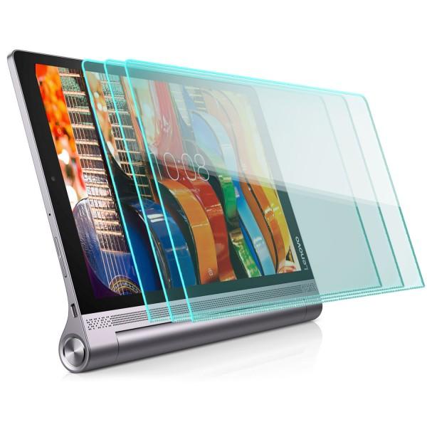 """3x Displayschutzglas für Lenovo Yoga Tab 3 (10"""")"""