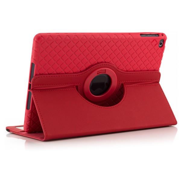 360° Tablet Tasche für Apple iPad (2017) - Rot