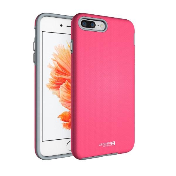 "Hybrid Case für Apple iPhone 8 Plus / 7 Plus (5,5"") - Pink"