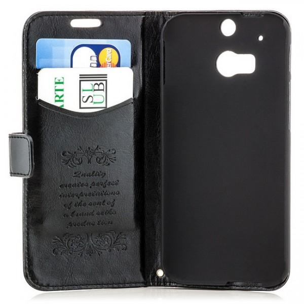 Business Handytasche für HTC One M8 Schwarz