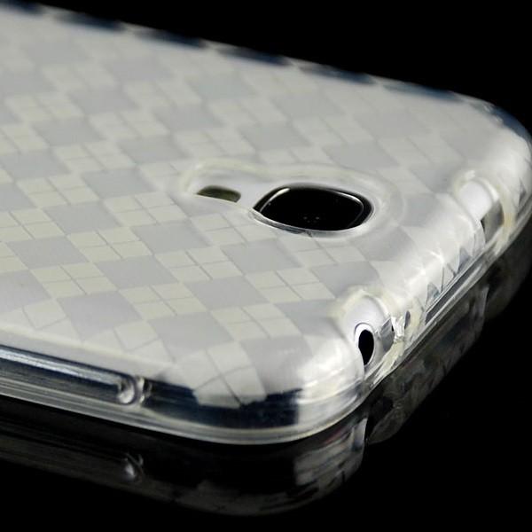 Raute Silikon Case für Samsung Galaxy S4 Transparent