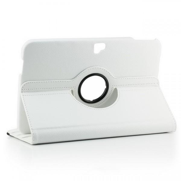 360° Tasche für Samsung Google Nexus 10 Weiß