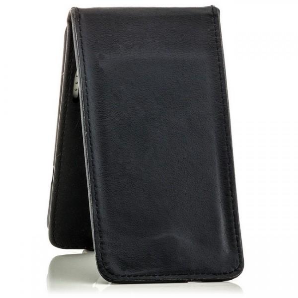 Slim Flip Case für HTC One X Schwarz