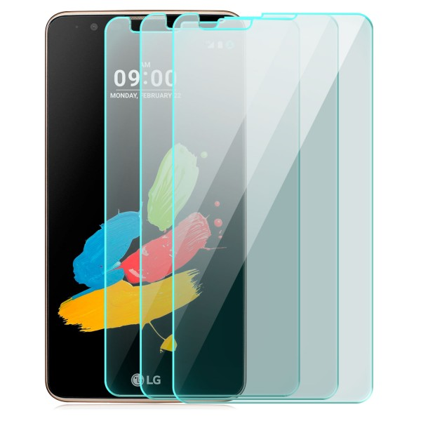 3x Displayschutzglas für LG Stylus 2