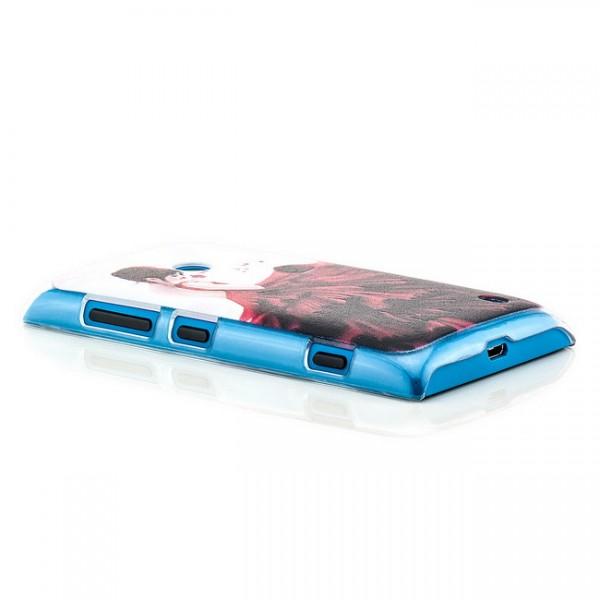 Rotes Kleid Back Cover für Nokia Lumia 520