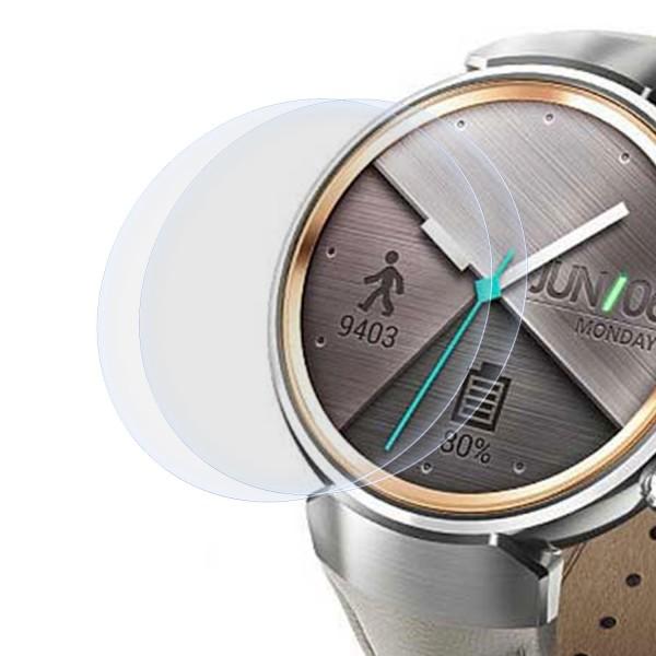"""2x Displayschutzfolie für Asus Zenwatch 3 (1,39"""")"""