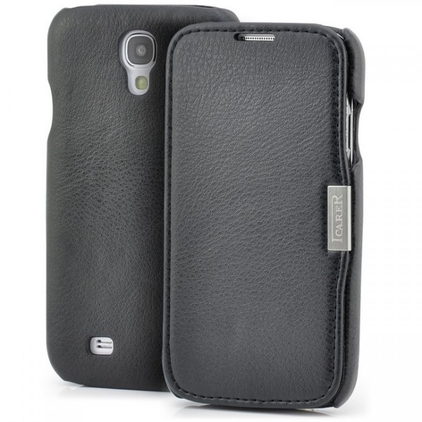 iCareR Side Open Series Case für Samsung Galaxy S4 Schwarz
