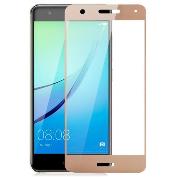 Full Cover Displayschutzglas für Huawei Nova - Gold