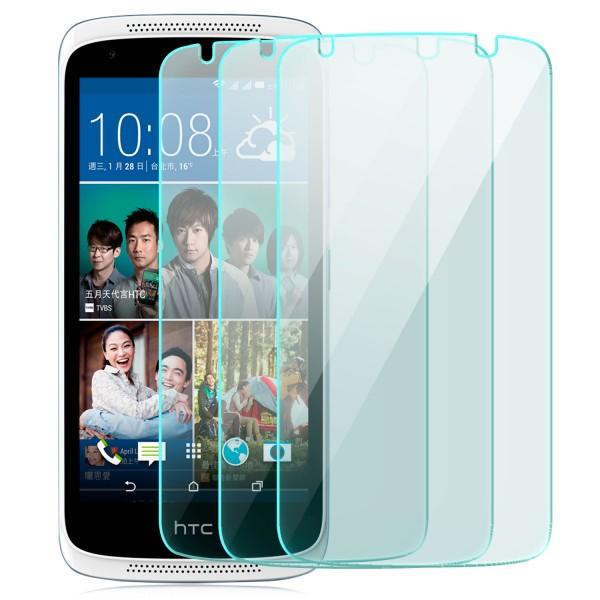 3x Displayschutzglas für HTC Desire 526G