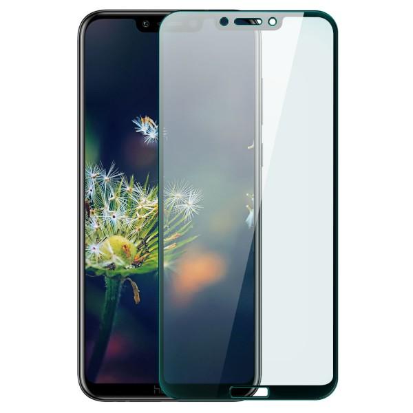 Full Cover Displayschutzglas für Huawei Honor Play - Schwarz