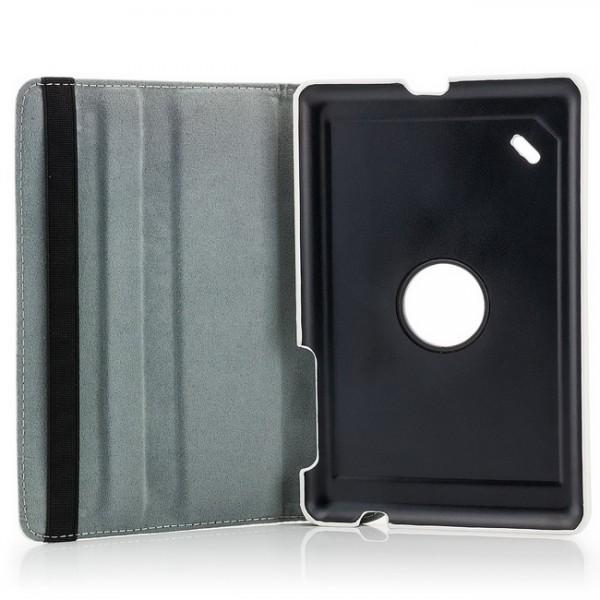 360° Tasche für Acer Iconia Tab B1-A71 Weiß