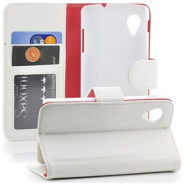 Slim Schutzhülle für LG Electronics Google Nexus 5 Weiß