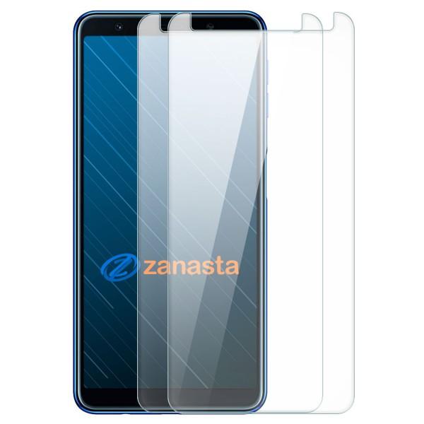 2x Displayschutzglas für Samsung Galaxy A7 (2018)