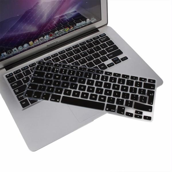 "MacBook Tastatur Cover 13"" / 15"" / 17"" - Schwarz"