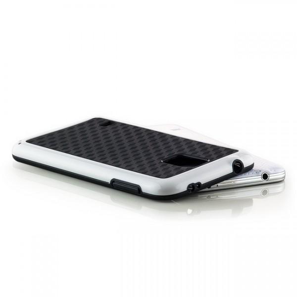 Cubes TPU Back Cover für Samsung Galaxy S5 Schwarz-Weiß