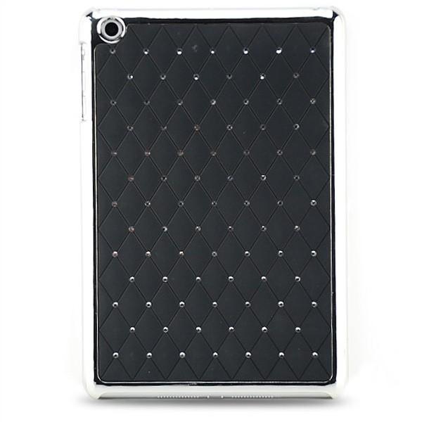 Diamanten Back Cover für Apple iPad Mini Schwarz