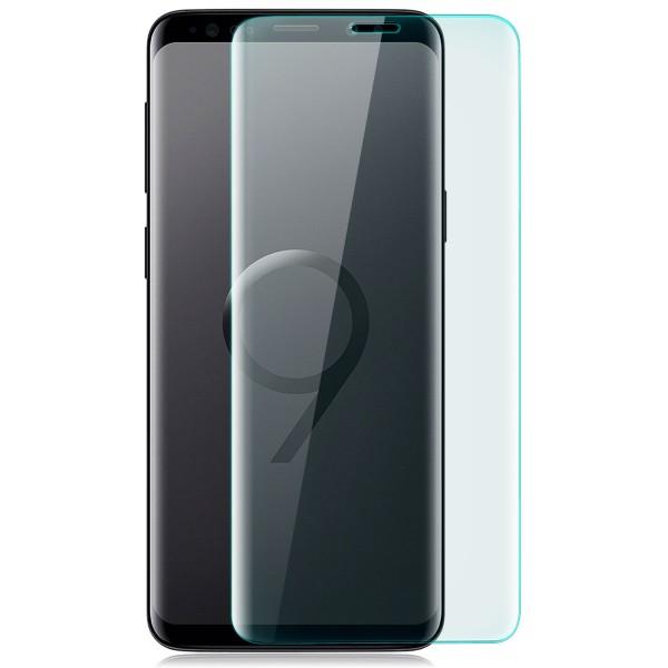 Curved Displayschutzglas für Samsung Galaxy S9 Plus - Transparent
