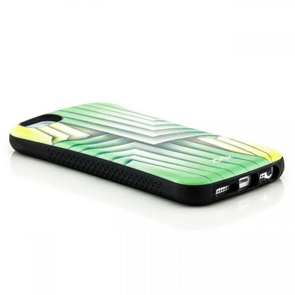 Shell Style Back Cover für Apple iPhone 5 & 5S Blätter Grün