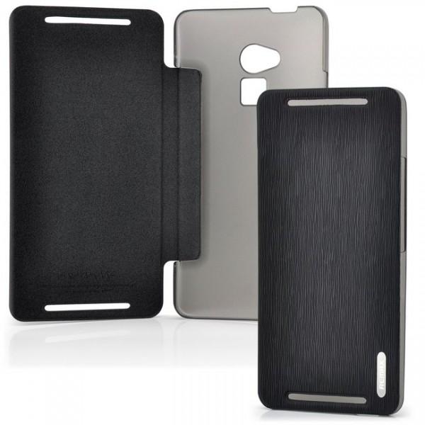 Remax Flip Tasche für HTC One Max Schwarz