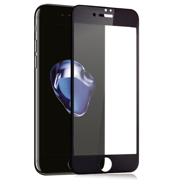 "Full Cover Displayschutzglas für Apple iPhone 7 Plus (5,5"") - Schwarz"