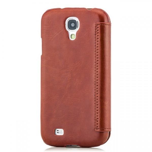 Hoco Wallet für Samsung Galaxy S4 Braun