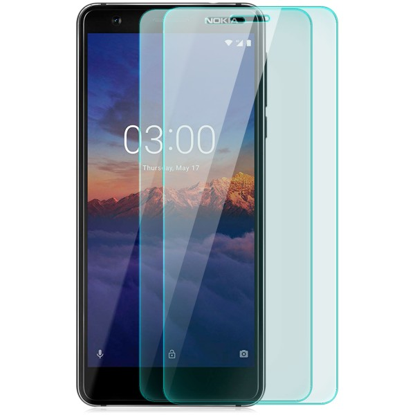 2x Displayschutzglas für Nokia 3.1