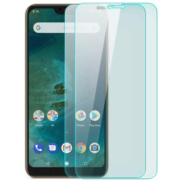 2x Displayschutzglas für Xiaomi Mi A2 Lite