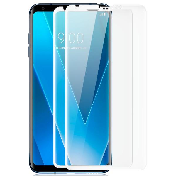 2x Curved Displayschutzglas für LG V30 - Transparent