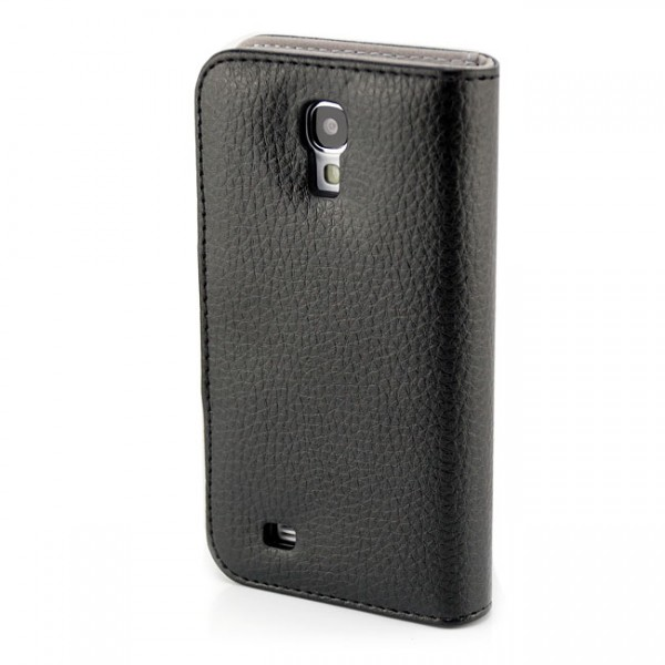 Business Wallet Case für Samsung Galaxy S4 Schwarz