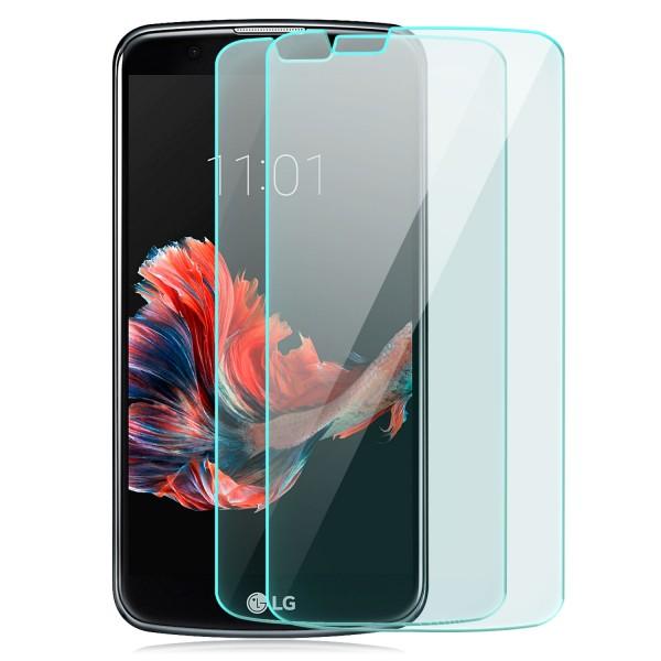 2x Displayschutzglas für LG K10 (2016)
