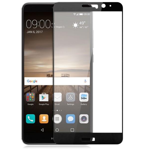 Full Cover Displayschutzglas für Huawei Mate 9 - Schwarz