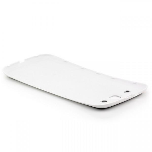 Brushed Akkudeckel für Samsung Galaxy S3 Schwarz