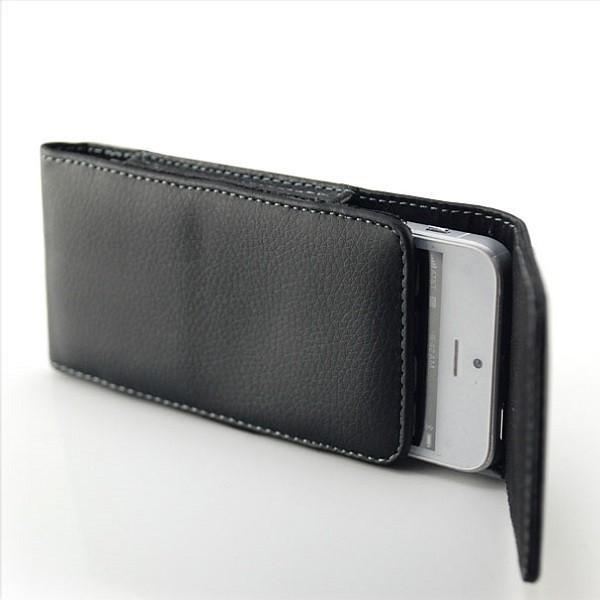 Gürteltasche für Smartphones (Innenmaße 125 x 60 x 11 mm) Hochformat