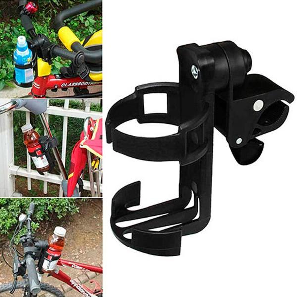 Getränkehalter für Kinderwagen / Fahrrad mit Schraubmontage